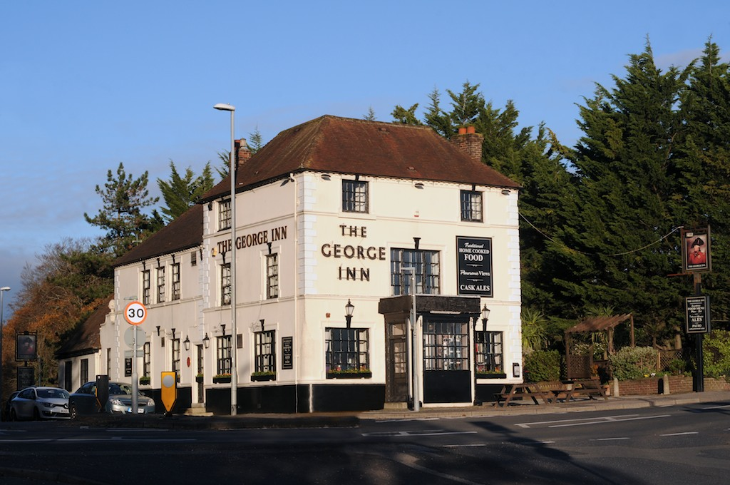 Photo of the Pub front during the day.